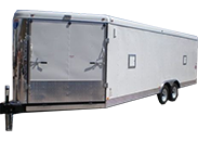 interstate enclosed cargo trailers car haulers snow sports all sport trailers