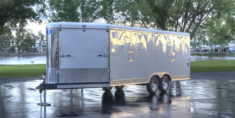 Allsport enclosed ATV trailers - Interstate Trailers