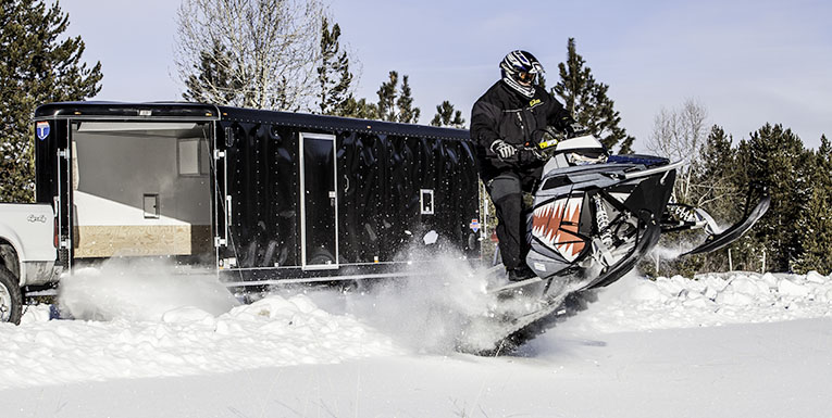 Snowmobile and Snow sport Trailers - Interstate Trailers